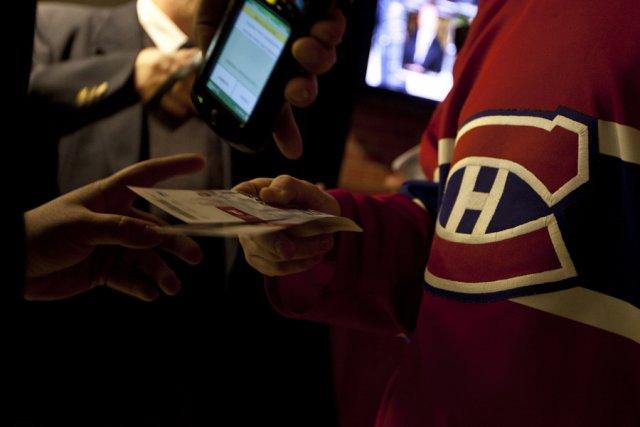 le canadien lance un site de revente de billets vincent brousseau pouliot hockey. Black Bedroom Furniture Sets. Home Design Ideas