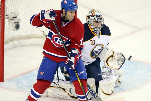 Absent depuis le 20 octobre, Scott Gomez qui... (Photo: Ryan Remiorz, Archives PC)