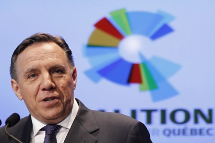 François Legault... (Photo: Reuters)