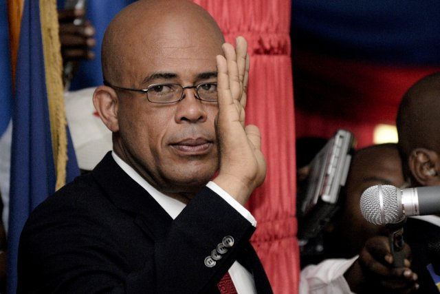 Le président haïtien Michel Martelly.... (Photo: Swoan Parker, Archives Reuters)