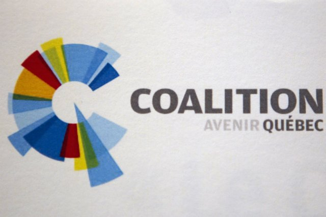 Le logo de la CAQ.... (photo: reuters)