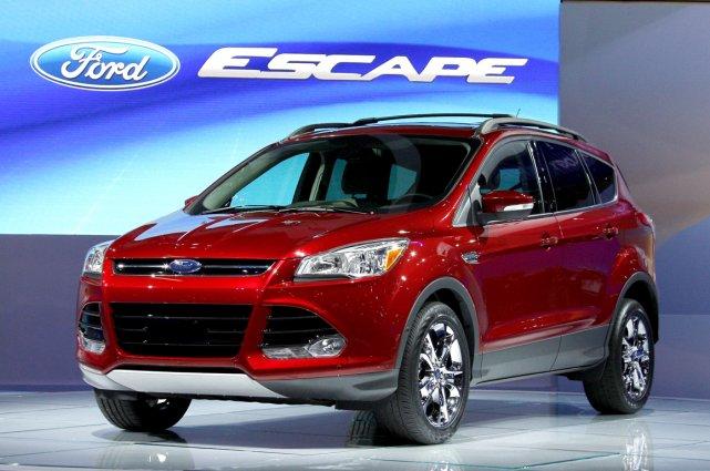 La Ford Escape 2012.... (Photo AP)