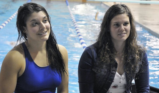 V ronique veut amasser 10 000 serge mond sports for Cegep jonquiere piscine