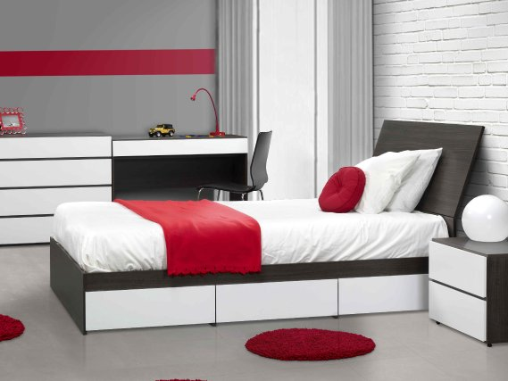 des meubles au style urbain et contemporain sophie. Black Bedroom Furniture Sets. Home Design Ideas