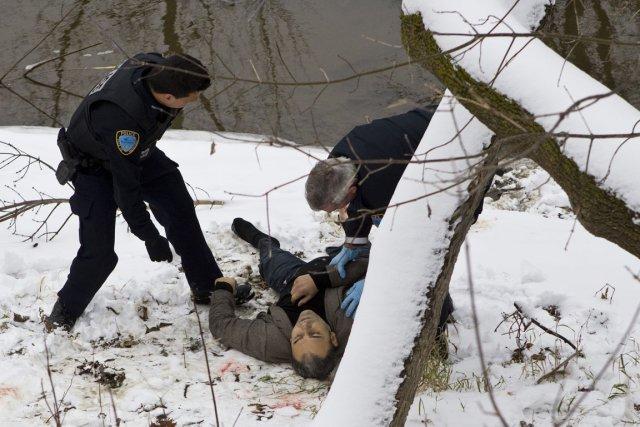 La première plainte concernait la photo du cadavre... (Photo: Stéphane Grégoire, Hebdos Rive Nord)