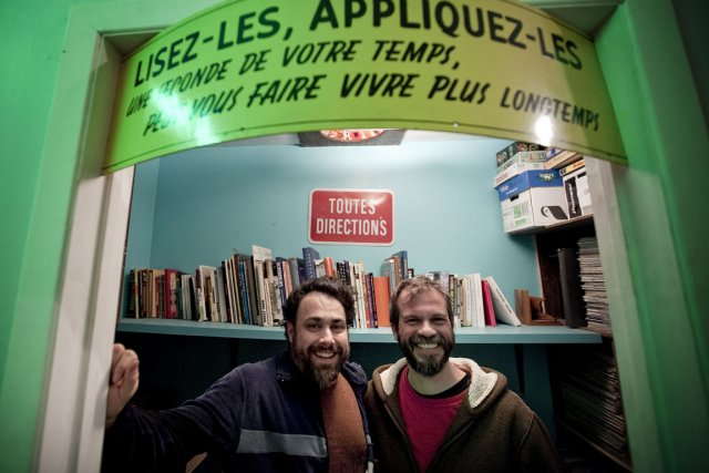 Pascal-Angelo Fioramore et Billy Mavreas font partie de... (Photo: Marco Campanozzi, La Presse)