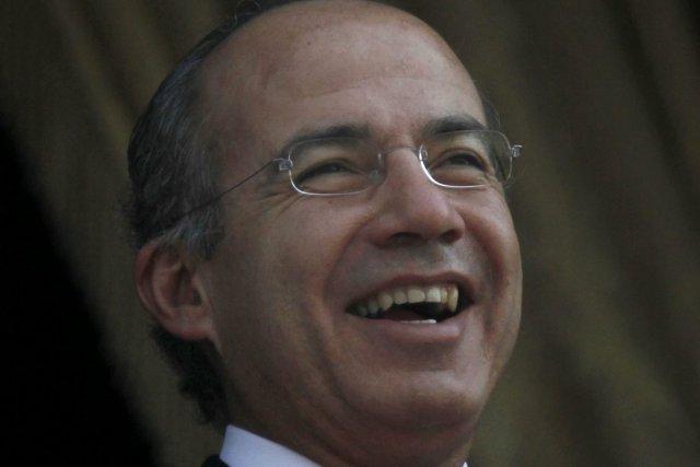 Le président mexicain Felipe Calderon.... (Photo: Marco Ugarte, AP)