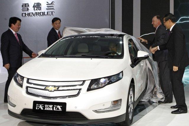 Le Chevrolet Volt.... (Photo: AP)