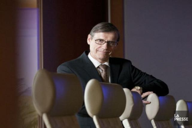 Richard Garneau, grand patron de Produits forestiers Résolu.... (Photo Ivanoh Demers, La Presse)
