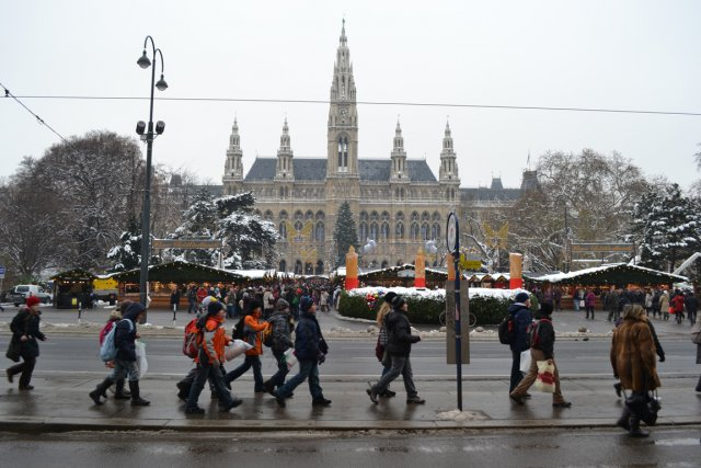 Vienne zurich et auckland villes les plus agr ables du monde nouvelles - Marche de noel vienne ...