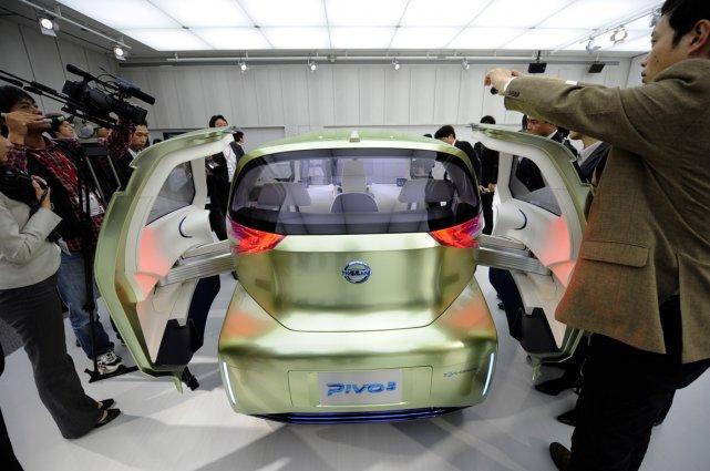 L'année a été difficile pour les constructeurs japonais: pour Nissan  ou ... (Photo AFP)