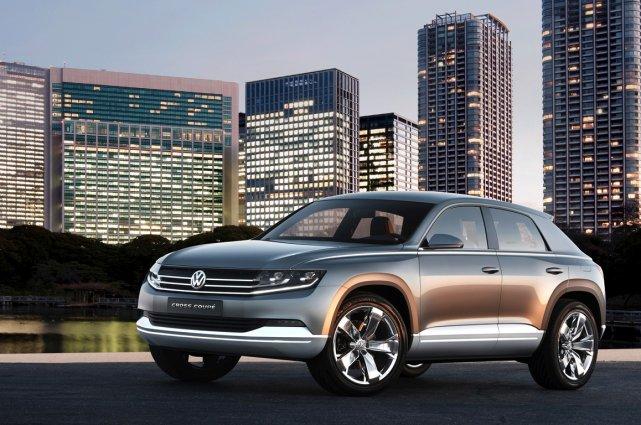Le concept Volkswagen Cross Coupe, dévoilé au Salon... (Photo fournie par Volkswagen)