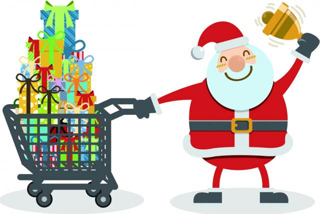 Voici la liste des commerces ayant collaboré aux cahiers de Noël de La... (Photos.com)