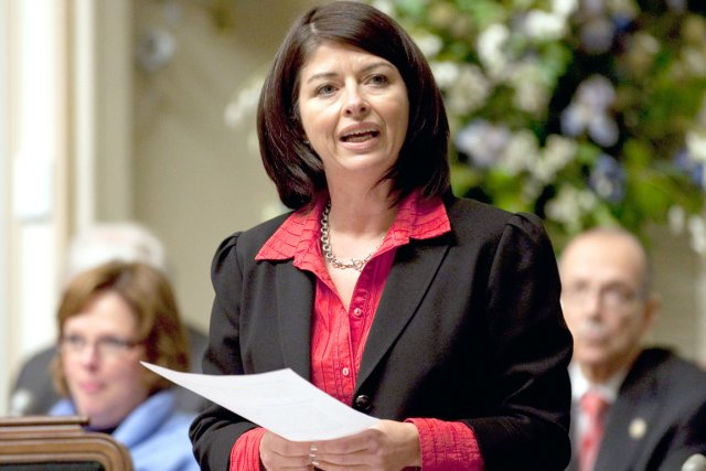 Le ministre Line Beauchamp... (Photothèque Le Soleil, Steve Deschênes)