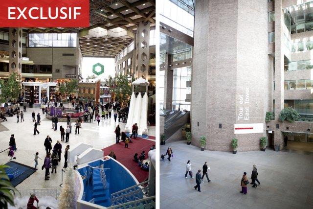 Le contraste est saisissant entre le complexe Desjardins... (Photo: Marco Campanozzi, La Presse)