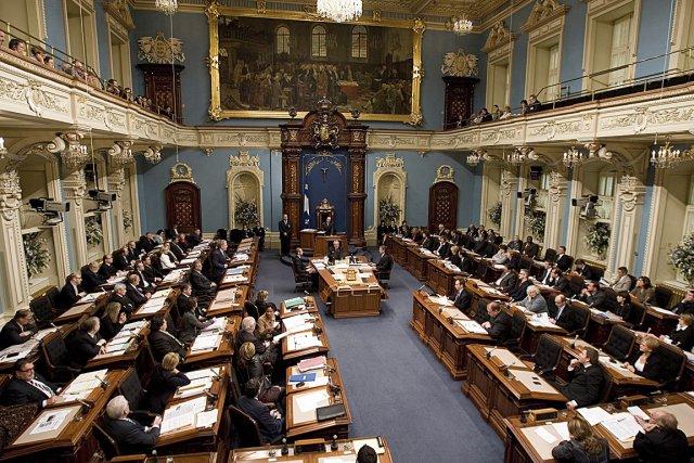 La semaine dernière, l'Assemblée nationale a publié un... (Photothèque Le Soleil)