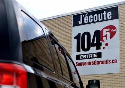 La station de radio Souvenirs garantis, à la fréquence 104,5 FM, arrête de... (Imacom, Frédéric Côté)