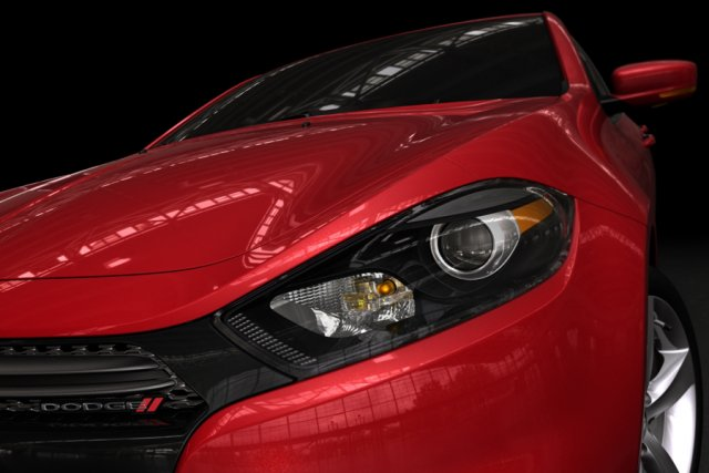 La nouvelle Dodge Dart 2013.... (Photo fournie par Chrysler)