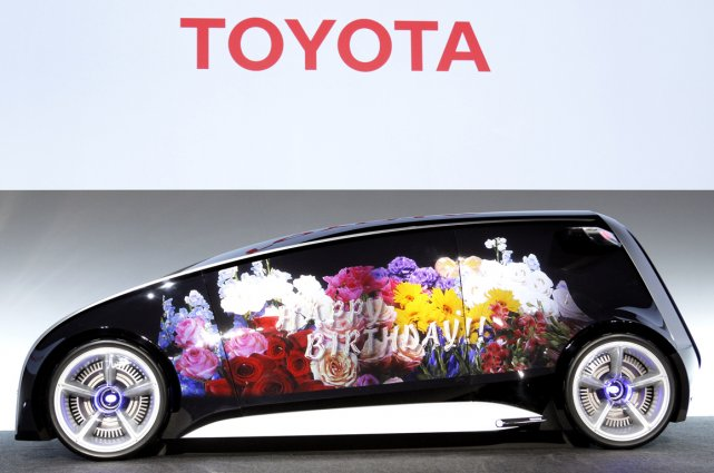 Le concept Toyota Fun-Vii.... (Photo Bloomberg News)