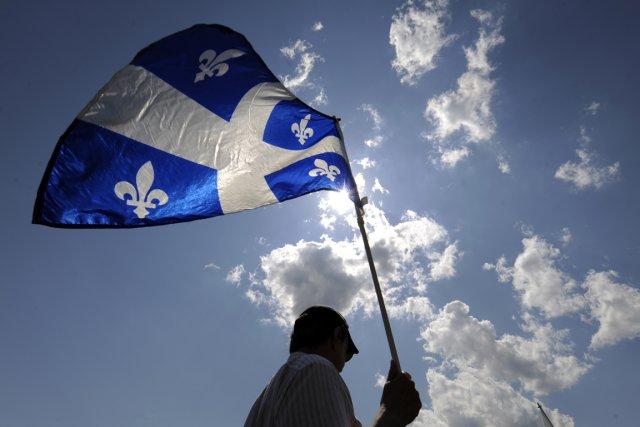 Quelque 45% jugent que le français devrait être,... (Photo: Bernard Brault, La Presse)