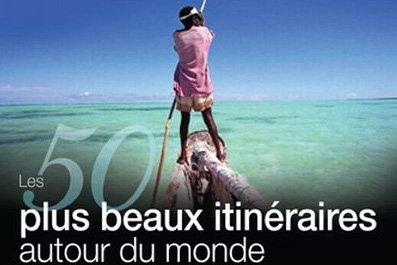 Couverture du livre Les 50 plus beaux itinéraires... (Photo: La Presse)