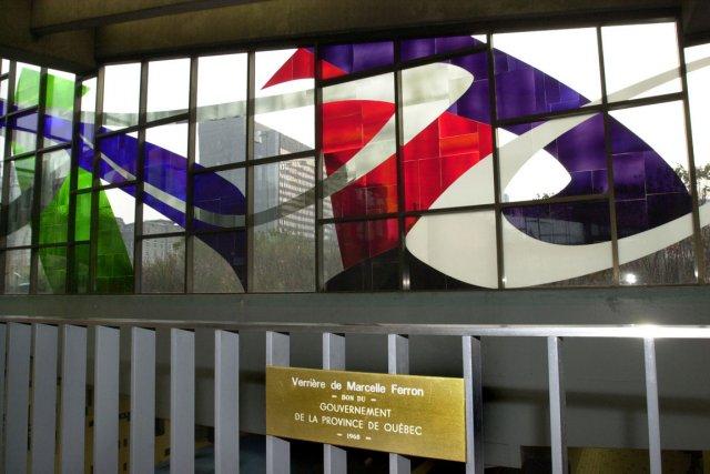 Ces vitraux ont fait l'objet d'un don du... (Photo: Rémi Lemée, Archives La Presse)