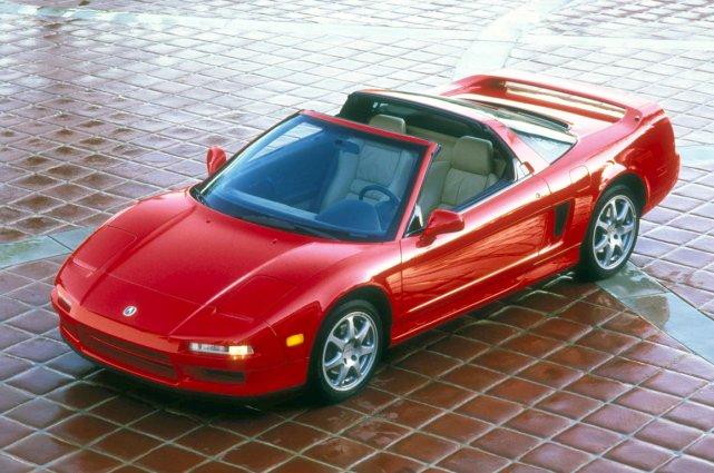 L'Acura NSX de 1995.... (Photo archives Acura)