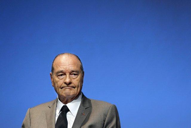 L'ex-président français Jacques Chirac.... (Photo:  Patrick Kovarik, AFP)