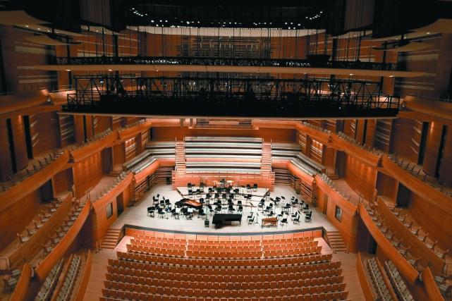 La construction de la Maison symphonique de Montréal... (PHOTO AEDIFICA Architectes et DIAMOND & SCHMITT)