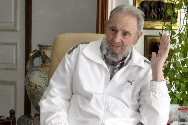 Fidel Castro... (Photo: AFP (Archives))