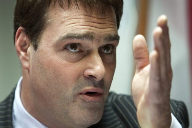 David Whissella été député libéral de 1998 à... (Photo: Ryan Remiorz, PC)