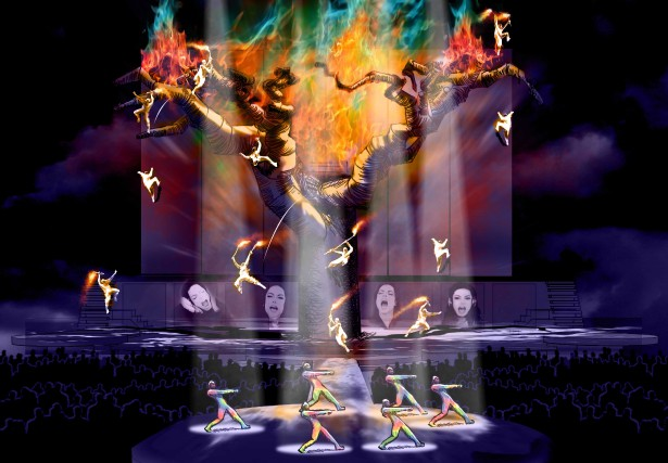 Michael Jackson Immortal World Tour... (Photo: fournie par le Cirque du Soleil)
