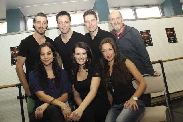 La nouvelle troupe de Don Juan. Les filles:... (photo Janick Marois)