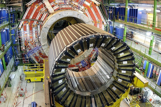 Le Grand collisionneur de Hadrons (LHC) du CERN.... (Photo: AP)