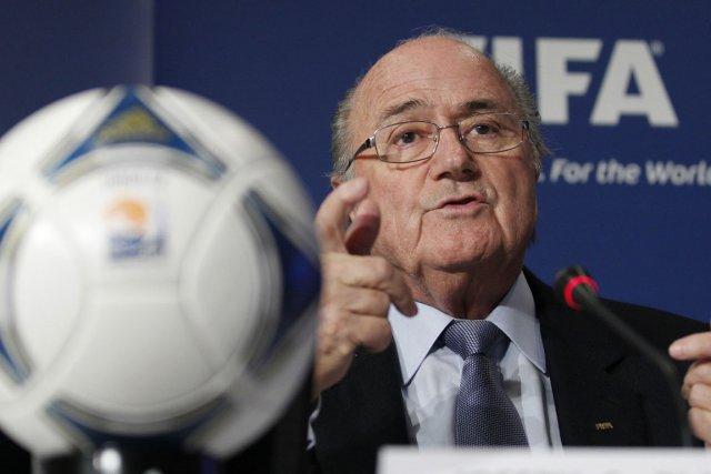 Le président de la FIFA, Sepp Blatter.... (Photo: Reuters)