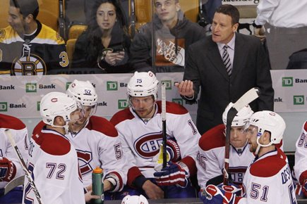 Randy Cunneyworth veut communiquer un message positif à... (Photo: Reuters)