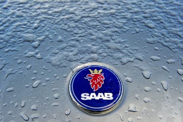 Saab, en faillite depuis lundi, s'est déclaré ce matin incapable  d'assumer ses... (Photo: Robin Utrecht, AFP)