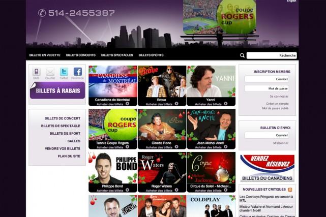 Les sites 514-Billets.com (photo), Billets.ca, Billets.com et Billetqualite.com... (Photo: 514-Billets.com)