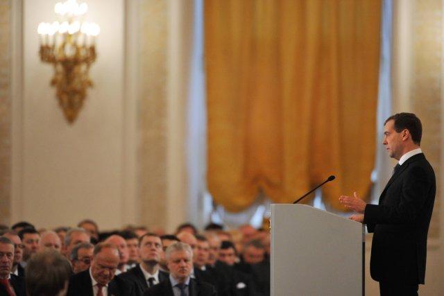 Le Kremlin nie que les changements annoncés hier... (Photo: Yuri Kadobnov, AFP)