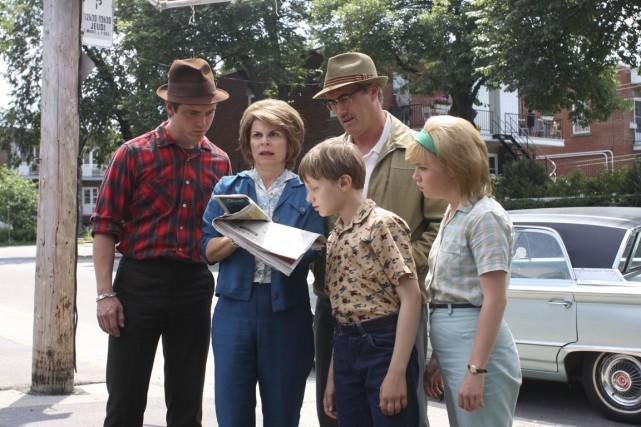 Les comédiens de la série Les rescapés.... (Photo: fournie par Radio-Canada)