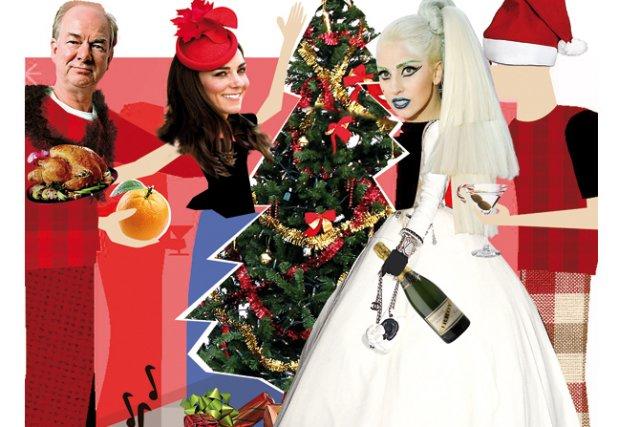 Comment fêtez-vous Noël? Dans le respect le plus total des traditions?  Sous... (Photomontage: La Presse)