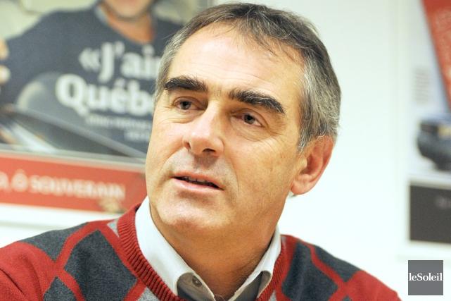 Le président de l'UPA, Marcel Groleau, martèle qu'il... (Photothèque Le Soleil, Erick Labbé)