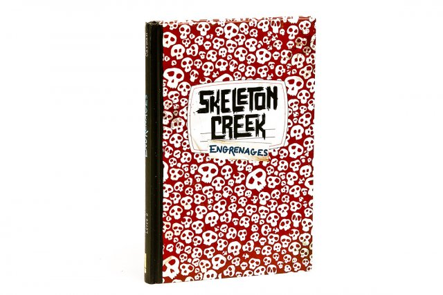Skeleton Creek - Engrenages Patrick Carman Bayard 27,95$...