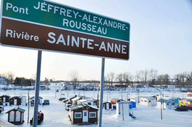 Le village de pêche de Sainte-Anne-de-la-Pérade n'a pas... (Photo d'archives)
