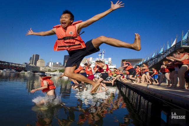 Il est toujours impossible de se baigner en... (Photo archives La Presse)