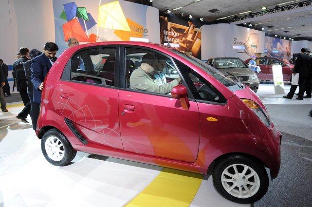 La Tata Nano.... (Photo archives AFP)