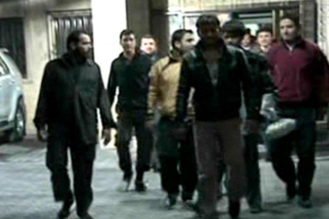 La télévision officielle syrienne a rapporté jeudi que... (Photo: SANA, Agence France-Presse)