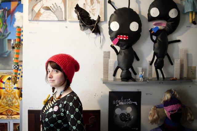 Mimi Traillette est artiste, blogueuse et «dermo-pirate».... (Photo: Marco Campanozzi, La Presse)