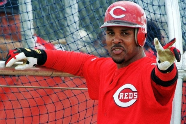 Le joueur d'arrêt-court Barry Larkin a reçu 86,4%... (Photo: Reuters)