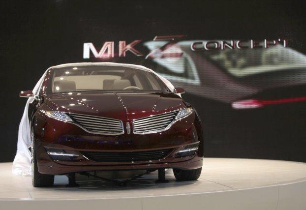 Le concept Lincoln MKZ, présenté à Detroit, donne...